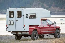 A Single-Piece Shell Allows This Truck Camper To Weigh 50 Percent ...