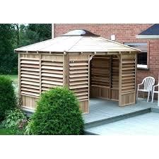 hot tub shelters gazebo wood