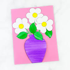 Easy Paper Flower Easy And Fun Paper Flower Bouquet Craft Fireflies And Mud Pies