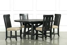 6 seater table and chairs 6 piece dining table set black and white kitchen style for