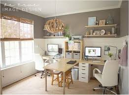 home office with two desks. Stunning Home Office Ideas For Two People Photos - Liltigertoo.com . With Desks T