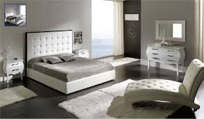 Leather Bedroom Suite Tufted Bedroom Set