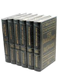 j r r tolkien the lord of the rings complete 6 volume leather