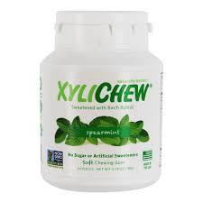 XyliChew - Sugar Free Soft Chewing Gum <b>Spearmint</b> - <b>60 Piece</b>(s ...