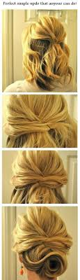 Hairstyle Easy Step By Step 14 easy step by step updo hairstyles tutorials pretty designs 4406 by stevesalt.us