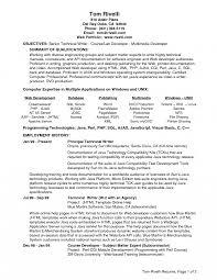 Resume Templates Java Developer Web Services Www Omoalata Com Lead
