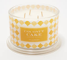 Homeworx By Harry Slatkin Set Of 2 Deluxe Coconut Cake 4 Wick