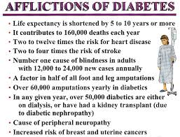 recent evidence shows that diabetes shorten your life  recent evidence shows that diabetes shorten your life