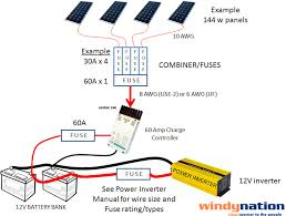 how properly fuse solar pv system web 30 Volt Solar Wiring Diagram Grid Tie Solar Wiring-Diagram