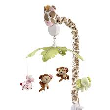 amazoncom  carter's jungle collection musical mobile  baby