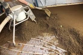Verlgen sie unter teppich eine fußbodenheizung. Ist Zementestrich Bei Der Fussbodenheizung Moglich Kesselheld