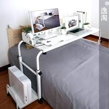 rolling bed table rolling bed table diy