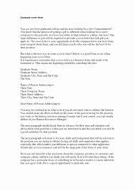 Sample Cover Letter For Graduate School Application Amazing Sample