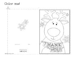 Thank You Cards Coloring Pages Starscarletinfo