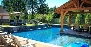 Backyard Pools Designs Amazing Backyard Pool Design Ideas Globalopportunities