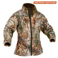 Arctic Shield Womens Heat Echo Light Jacket Realtree Xtra Size Xlarge