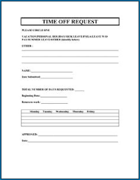 Sample Vacation Request Form Vacation Request Form Example 772