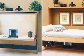 wall beds for small rooms. Contemporary Wall 10 Murphy Beds That Maximize Small Spaces  Brit  Co Throughout Wall For Rooms