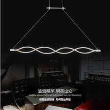 led pendant lighting fixtures. Creative Wave Design Acrylic Droplight Modern Pendant Light Fixtures For Living Dining Room LED Hanging Lamp Led Lighting O