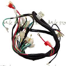 aliexpress com buy full electrics wiring harness coil cdi spark aliexpress com buy full electrics wiring harness coil cdi spark plug kits for 50cc 70cc 90cc 110cc 125cc 140cc atv quad pit dirt bike buggy go kart from
