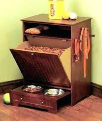 dog storage furniture. Pet Storage Dog Feeder And With Food Cabinet . Furniture E