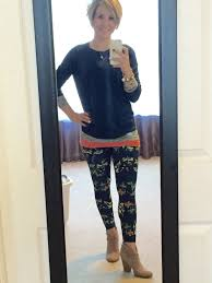 What To Wear With Patterned Leggings Magnificent Decorating Design