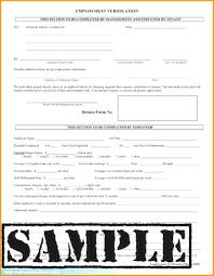 Generic Employment Verification Form 24 Employment Verification Form Template Nypd Resume Related For 11
