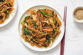 vegan chae korean stir fried gl