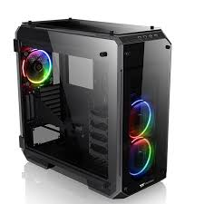 Купить <b>Корпус</b> ATX <b>THERMALTAKE View 71</b> TG RGB, черный в ...