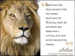 worth re ing a christian allegory joy of nine aslan quote1