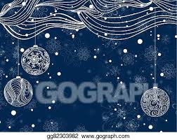 Clip Art Vector Winter Holiday Background Stock Eps