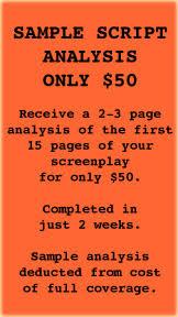 Movie Script Example Movie Scripts Script Analysis The Script Source