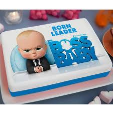 Boss Baby Printed Cake 33lb