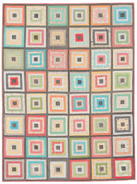 Scrap shrinker! How to make a Log Cabin quilt block (video ... & Scrappy Courthouse Steps quilt Adamdwight.com