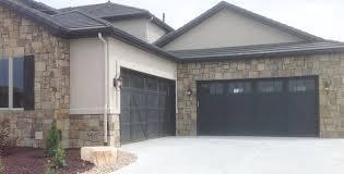 black garage doorsGarage Doors Denver  Sales Replacement  Repair