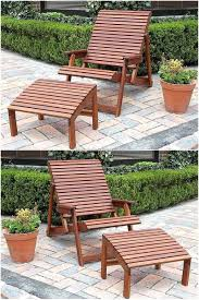 wooden pallet patio furniture. Wood Pallet Patio Chair With Footrest Wooden Furniture