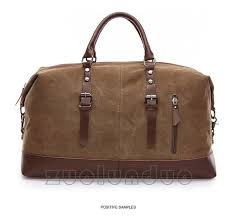original z l d canvas leather men travel bags carry on luggage bags men duffel bags travel tote