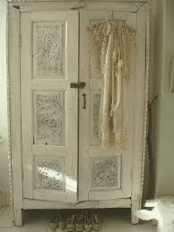 white wood wardrobe armoire shabby chic bedroom. Room · Shabby Chic Closet White Wood Wardrobe Armoire Bedroom A