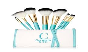 carmindy co 8 piece brush kit groupon