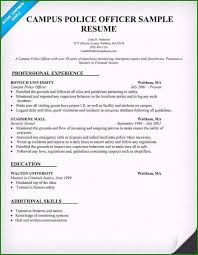 Police Resume Examples Extraordinary Cover Letter Example