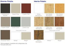 replacement window color options faux wood soffit19 wood