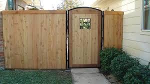 wood fence gate. White Wood Fence Gate I