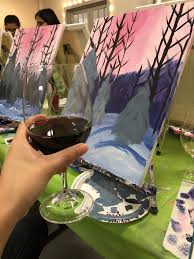 photo of ward johnson winery seattle wa united states wine and paint