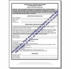 Free Subcontractor Lien Waiver Form All Four California Lien Waiver Release Forms Plus Two Free Bonuses