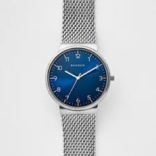 mens watch watches for men on skagen watch ancher heavy gauge steel mesh watch