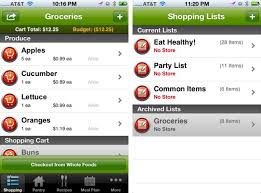 Food Budget App The 5 Best Free Grocery List Apps For Iphone Art Of The Iphone
