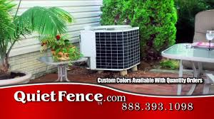 how to make noisy air conditioner really quiet with quiet fence noise screen you