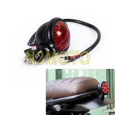 Bates Lights Black Motorcycle Led Bates Style Taillights Tail Brake Light