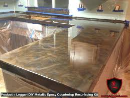 kitchen countertops reviews best metallic resurfacing kits within countertop ideas 49