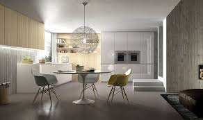 contemporary italian lighting. View In Gallery Classic Decor Additions And Smart Lighting Shape Small Dining Area The Kitchen Contemporary Italian